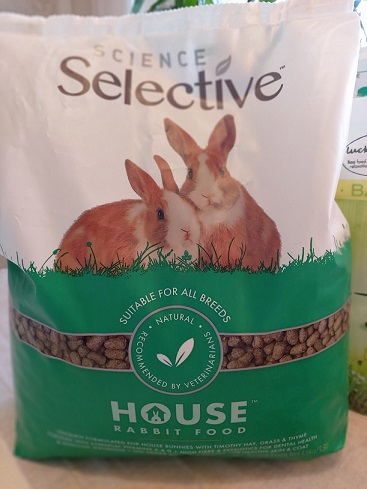 house rabbit food kanipelletti